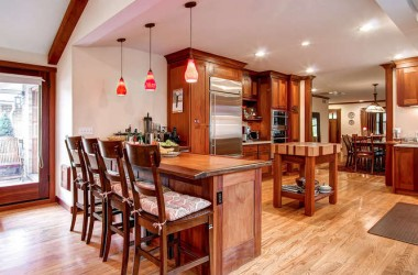 open concept kitchen remodel