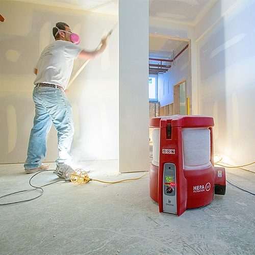 Removing Remodeling Related Dust and Other Stressors