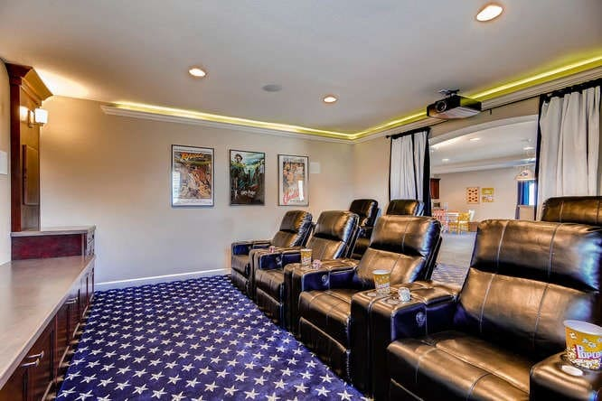 basement finishing ideas home theater
