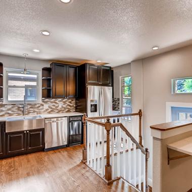 Home Remodeling Renovation Kitchen Jasmine St Denver CO